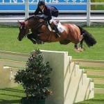 El salto ecuestre de obstáculos